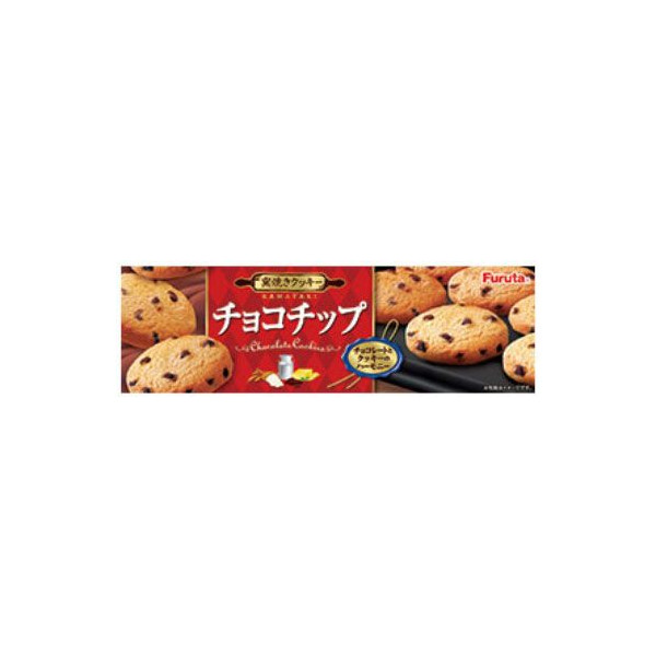 Bánh Quy Chocolate Furuta (Choco Chip cookie) 12p