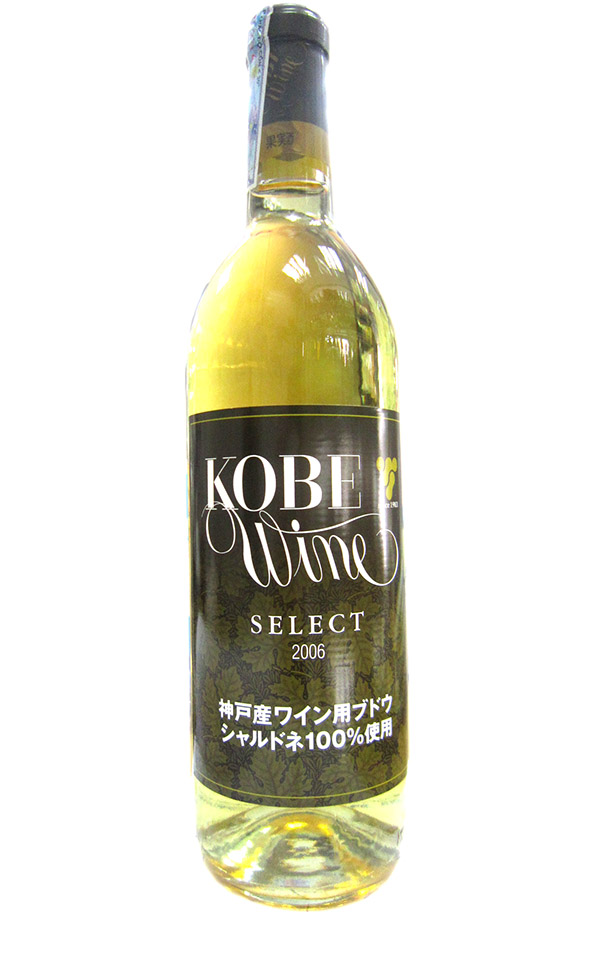 Rượu KOBE WINE SELECT (WHITE) DRY 720ML ALC 12%